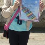 Удзельніца конкурса Лепшыя чытачы 2014г. Харціцкая сельская бібліятэка